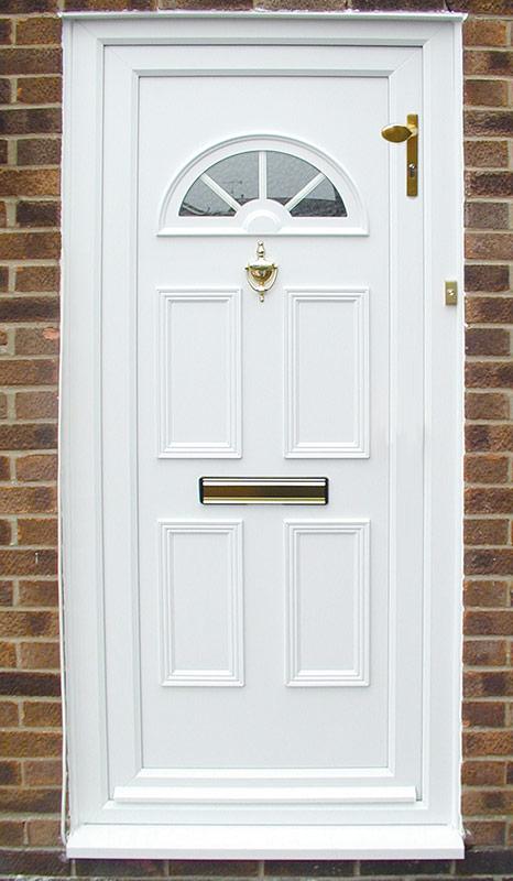 Door with a bad handle